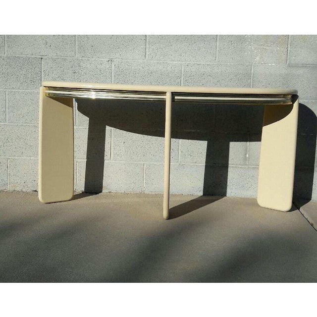 1980's Institute of Design Entry Table Console - Image 3 of 5