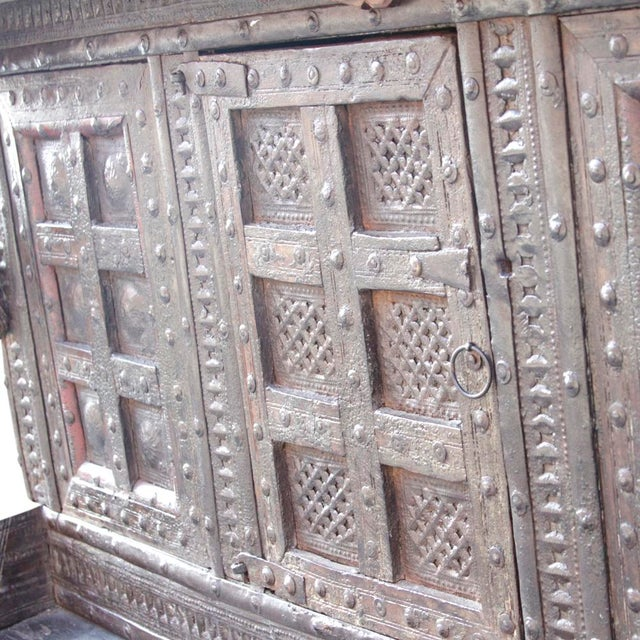 Antique Teak Gujarat Cabinet - Image 8 of 9