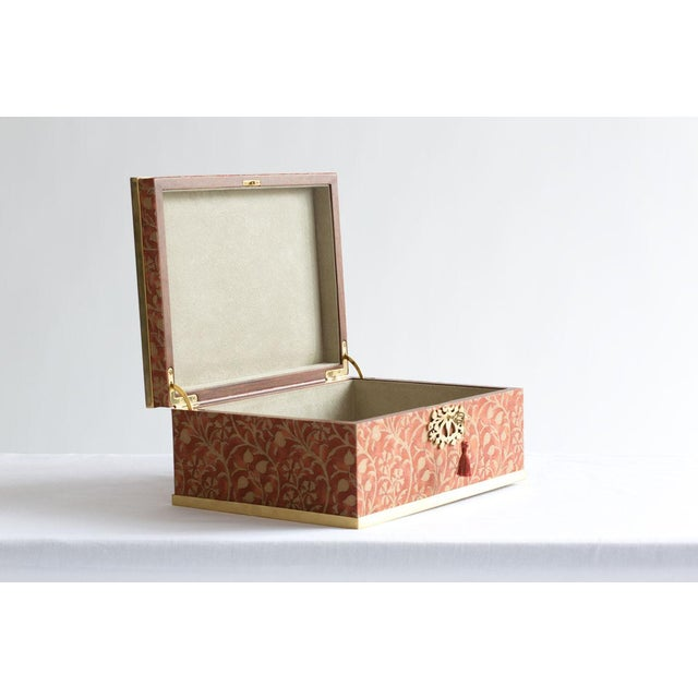 Fortuny l'Objet for Fortuny Jewelry Box in Granada For Sale - Image 4 of 7