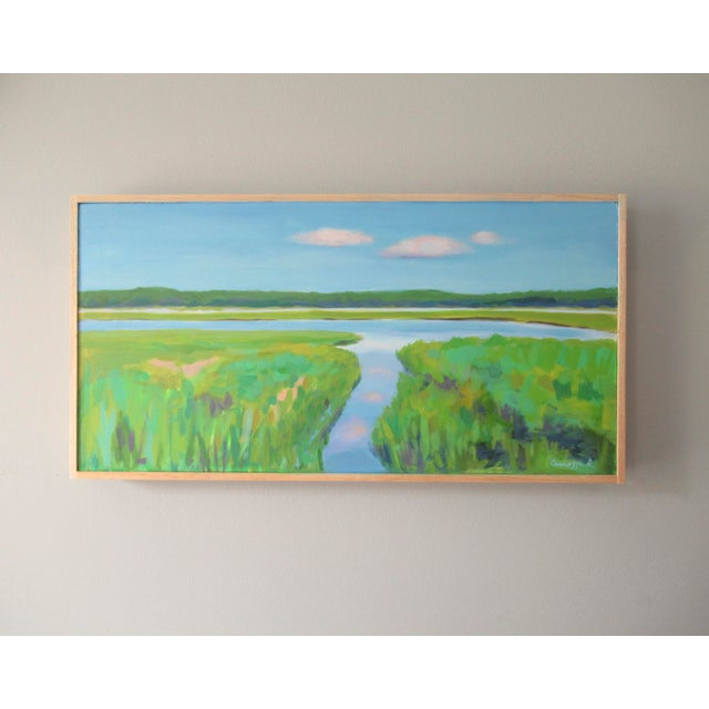 I enjoy painting on site at the Allen's Pond Wildlife Sanctuary in Westport, Massachusetts. A gorgeous place. Spanning...