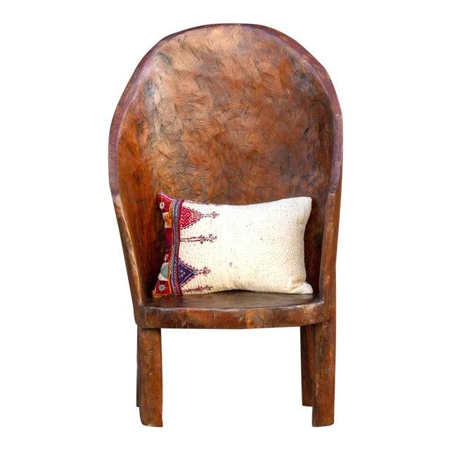Chunky Tribal Naga Chair For Sale