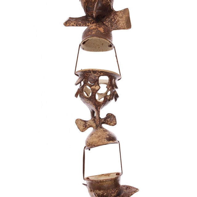 Mid-Century Modern Hanging Ceramic Sculpture by Jim Proctor For Sale - Image 3 of 6