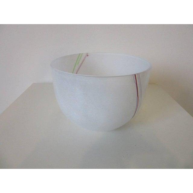 Bertil Vallien Large Bertil Vallien Kosta Boda Swedish Bowl For Sale - Image 4 of 4
