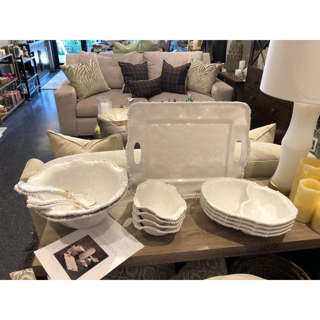 Shabby Chic Beatriz Ball Vida Alegria Serving Tray from Kenneth Ludwig Chicago For Sale - Image 3 of 7
