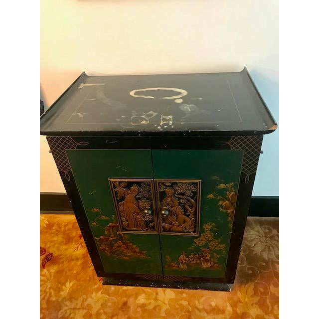 1930's Vintage Bar Cabinet For Sale In Los Angeles - Image 6 of 8