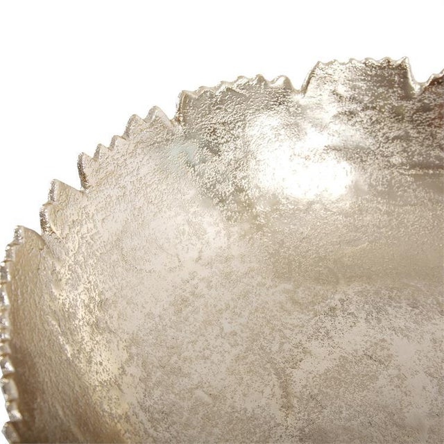 Kenneth Ludwig Chicago Kenneth Ludwig Gold Broken Edge Bowl / Wall Art For Sale - Image 4 of 6
