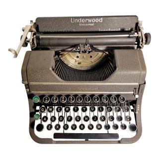 Vintage 1930's Underwood Typewriter For Sale