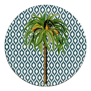 Italian Palma Round Placemat For Sale