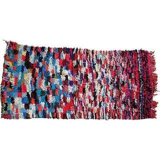 """Hand Loomed Moroccan Wool Rug - 6'7"""" x 3'1"""""""