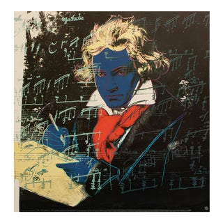 "Andy Warhol ""Bethoven"", 1992 Poster by Andy Warhol Foundation For Sale"