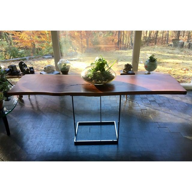 Live Edge Walnut Table Desk - Image 3 of 10