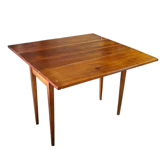 Vintage Modern Farmhouse Drop-Leaf Table - Image 1 of 5