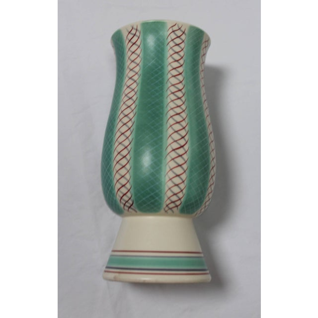 Ceramic Mid-Century Modern Poole Pottery Vase For Sale - Image 7 of 11