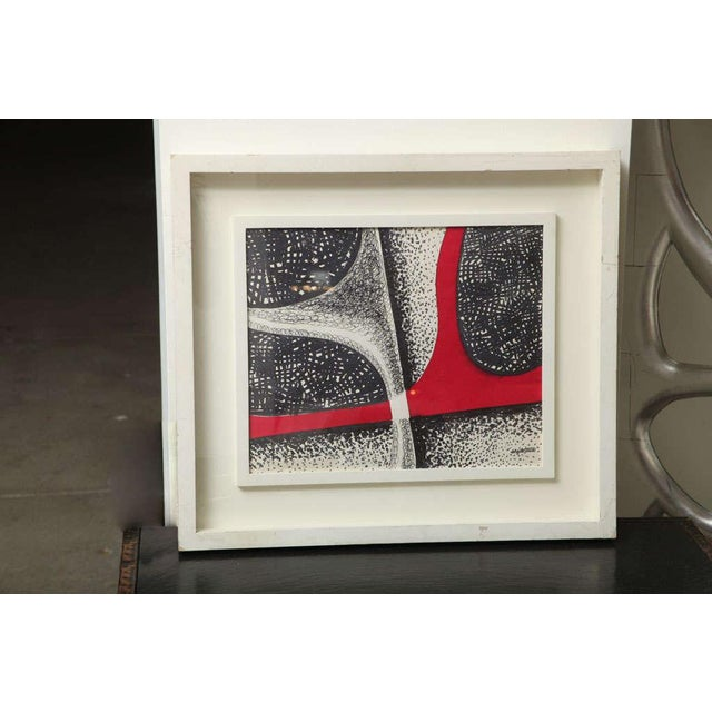 "Angelo Testa, Untitled, watercolor on paper, 13 1/4"" x 16"" Signed ""angelo testa"" lower right recto, framed circa 1950..."