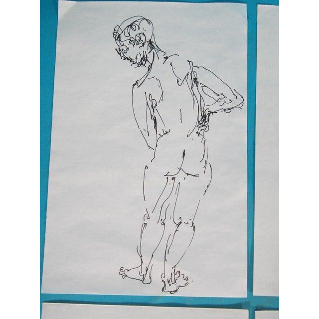 Male Nude Studies - Set of 4 - Image 6 of 6