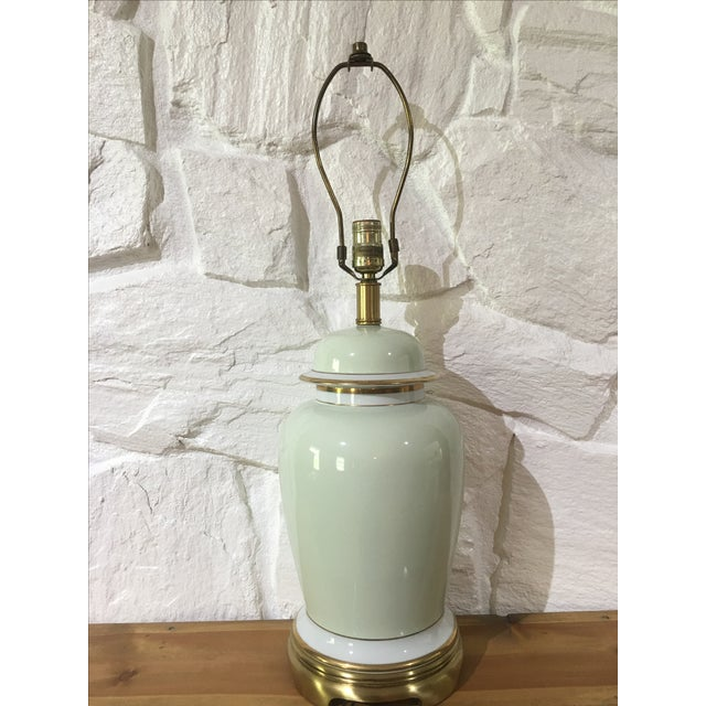 Asian Vintage Frederick Cooper Ginger Jar Lamp For Sale - Image 3 of 5