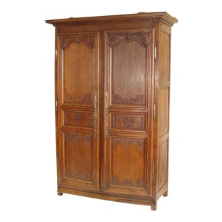 Louis XIV Oak Armoire