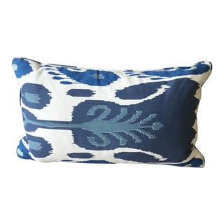 Contemporary Ikat Pillow