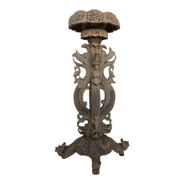 Vintage Anglo Indian Pedestal - Image 1 of 9