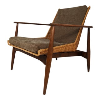 Vintage Mid Mod Lounge Chair by Lawrence Peabody for Richardson Nemshoff For Sale