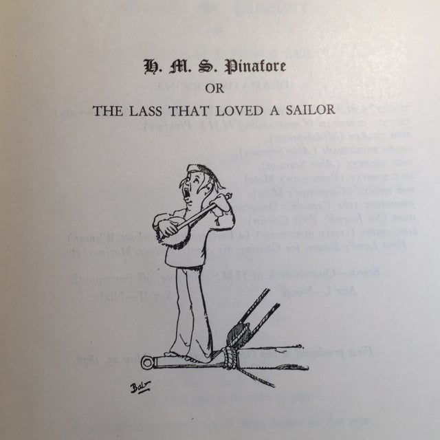 Book & Lyrics Gilbert & Sullivan Operas 1932
