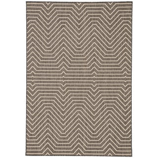 Jaipur Living Prima Indoor/ Outdoor Geometric Area Rug - 5′ × 7′6″