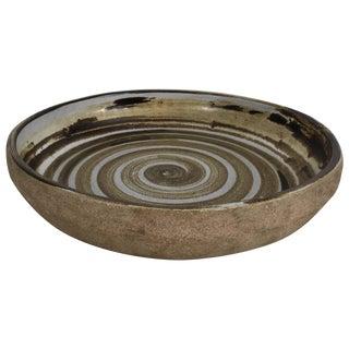 Studio Made Ceramic Bowl by Gordon and Jane Martz for Marshall Studios For Sale