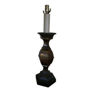 Vintage Brass Table Lamp For Sale
