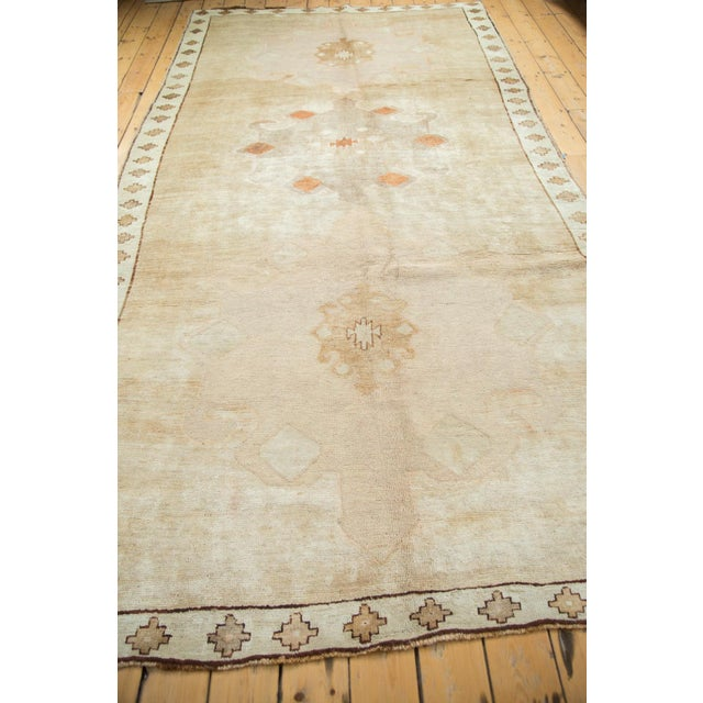 "Vintage Oushak Rug Runner - 6'3"" X 12'5"" For Sale In New York - Image 6 of 10"