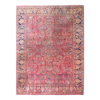 Early 20th Century Persian Sarouk Rug For Sale