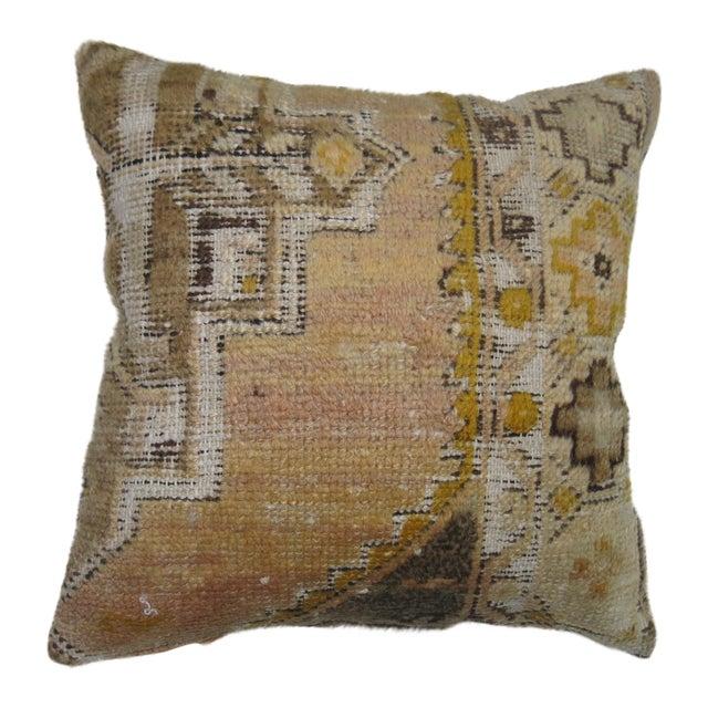 Vintage Turkish Anatolian Rug Pillow - Image 1 of 3