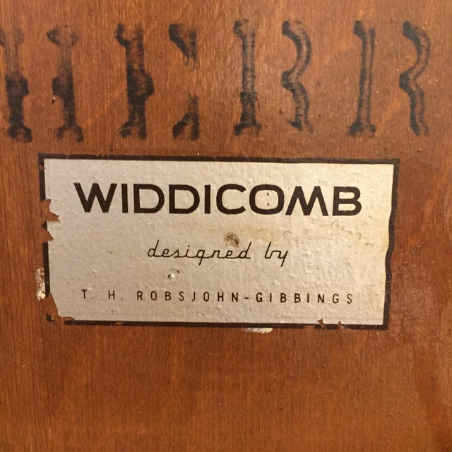 Robsjohn Gibbings Walnut Coliseum Side Table For Sale - Image 10 of 11