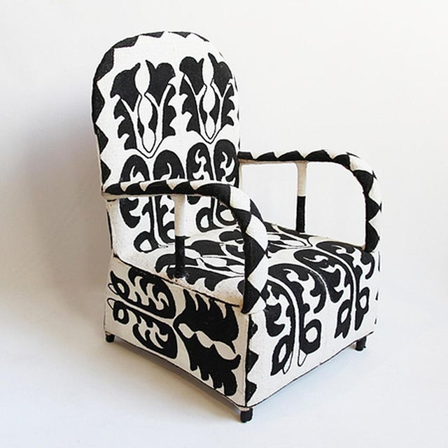 Beaded Yoruba Arm Chair - Image 3 of 5
