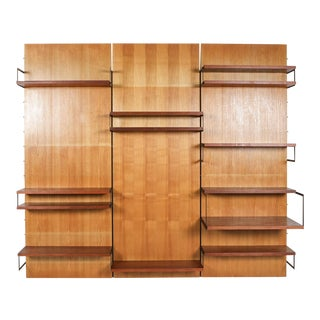 Cees Braakman for Postoe 'Japanese Series' Wall Unit, the Netherlands - 1950's For Sale