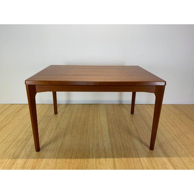 1960s Danish Modern Henning Kaerjnulf for Vejle Stole + Møbelfabrik Teak Dining Table For Sale - Image 11 of 11