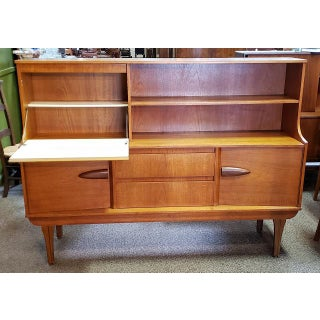 Mid-Century Modern Teak Bar or Desk With Cabinet C.1960s Preview
