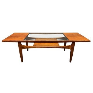 1960s Mid Century Modern G Plan Teak Coffee Table For Sale