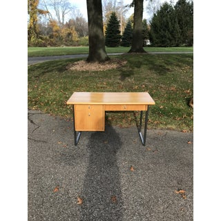 Mid Century Modern Jack Cartwright for Founders Blonde Writing Desk Preview