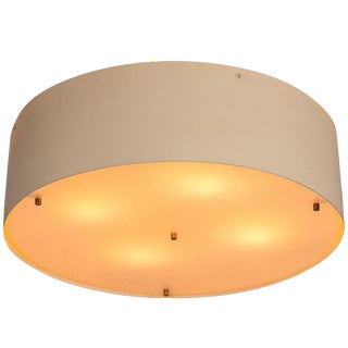 1950s Mid-Century Modern Jacques Biny for Luminalite Wall or Ceiling Light For Sale