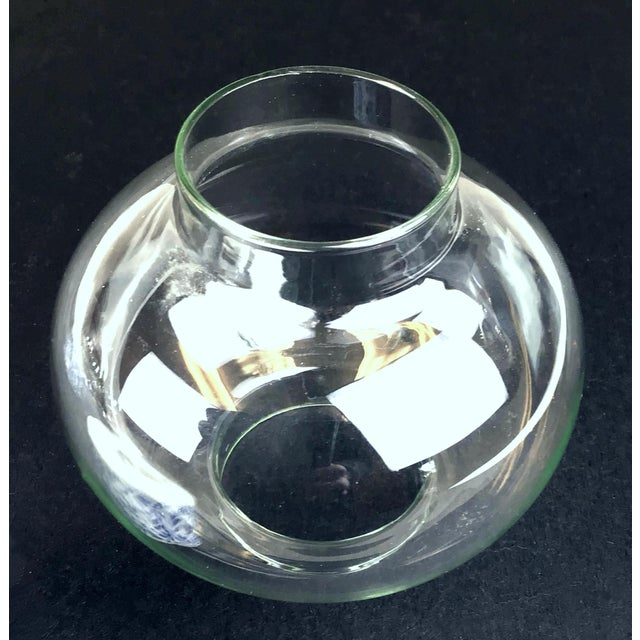 Transparent 1970s West Germany Candle Holder With Glass Dome - a Pair For Sale - Image 8 of 13