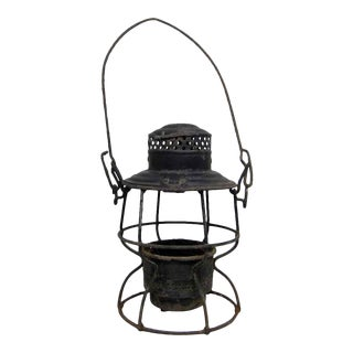Black Gas Lantern For Sale