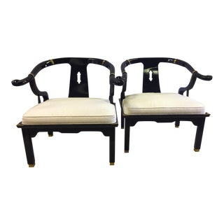Century Furniture James Mont Style Chinese Ming Chair- A Pair