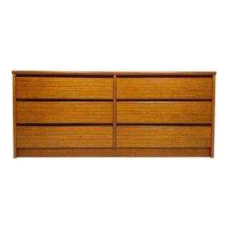 Mid Century Danish Teak Dresser. For Sale