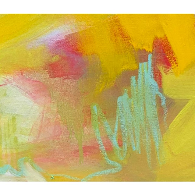 """Up and Away"" by Trixie Pitts Large Abstract Diptych Oil Painting For Sale In Nashville - Image 6 of 13"