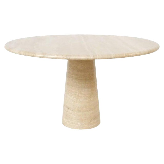 Dining Table in Style of Angelo Mangiarotti For Sale