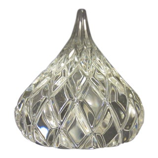 Jonal Crystal Hershey's Kiss Paperweight For Sale