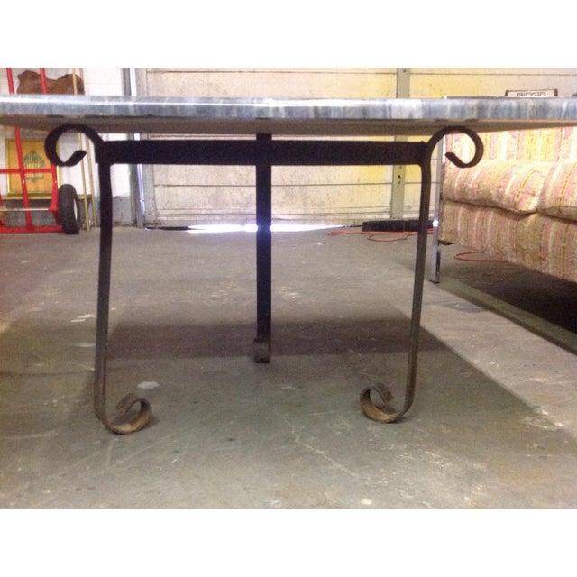 Blue Brazilian Quartzite Coffee Table For Sale - Image 5 of 6