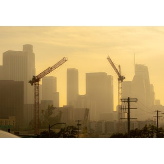 """""""Cranes in the Sky"""" Contemporary Limited Edition of 10 Photograph For Sale"""