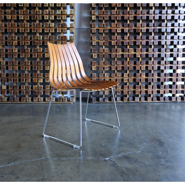 1960s Hans Brattrud Scandia for Hove Mobler Dining Chairs - Set of 4 For Sale - Image 9 of 12