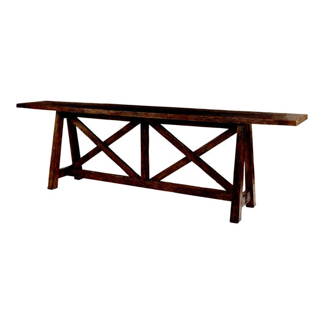 Century Furniture Marbella Tierra Console Table For Sale